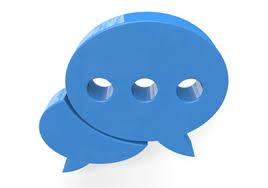 チャットではどのような 会話をしていますか